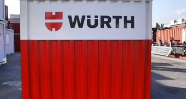 CHV 110 10FT Werkstatt Container Würth