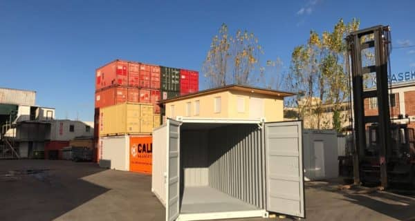 CHV 210 20FT Lagercontainer