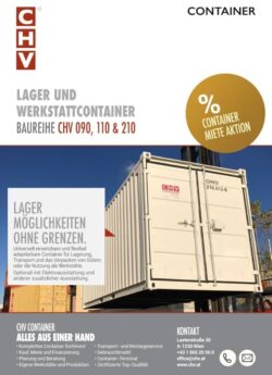 CHV Storage and Workshop Containers