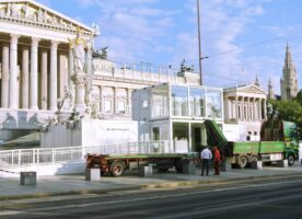 Containeranlage Parlament