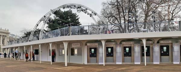 Schlittschuhverleih Wiener Eistraum
