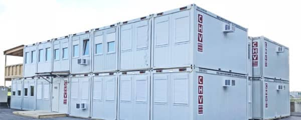 """Containeranlage """"Baubüro Austro Control"""""""