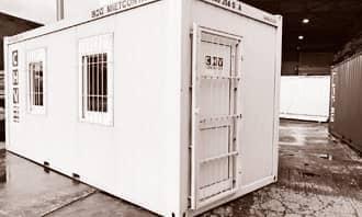 CHV Lagercontainer Bürocontainer Materialcontainer Zubehör Sicherheit