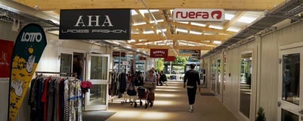 Ausweichquartier Einkaufszentrum Wien Südstadt