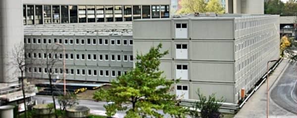 Büroanlage UNO City