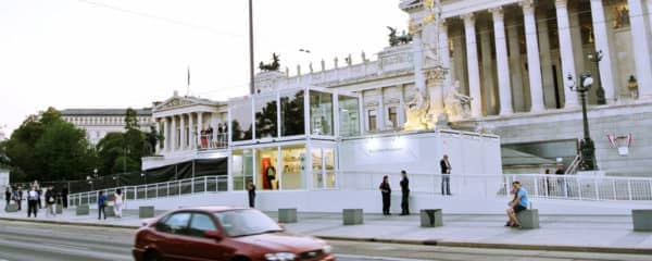 Live Sendestudio Parlament Wien