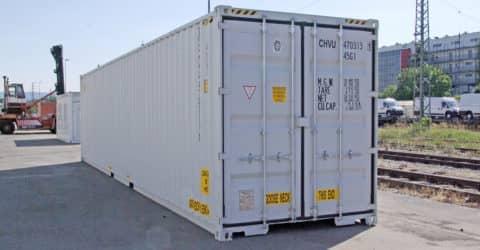 40ft High Cube Double Door neuwertig