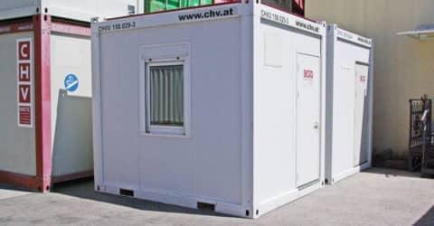 10ft Bürocontainer gebraucht 150.029-3