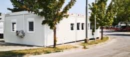 Lehrsaal Containeranlage Wiener Linien
