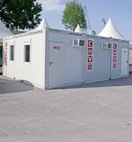CHV Mietcontainer: Containeranlagen