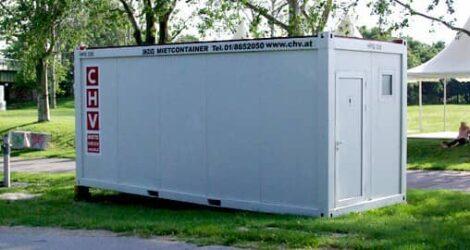 CHV Sanitärcontainer CHV300DU 20ft Duschcontainer