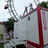 CHV mobile Sanitäranlagen Sanitärcontainer WC Container