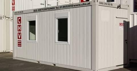 20ft Bürocontainer NEU konfigurierbar