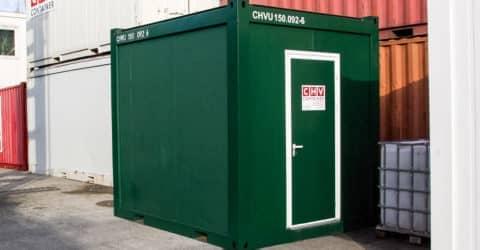 10ft Technikcontainer ohne Fenster