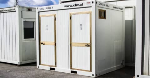 10ft WC Container Damen/Herren gebraucht