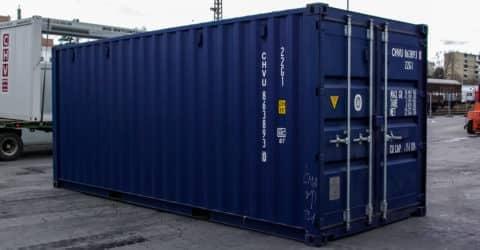 20ft ISO Seecontainer Easy Open neuwertig