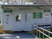 Kleine Triage Station Eingang