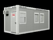 Covid-19 Testcontainer aussen