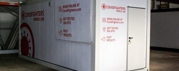 Testlabor Container für den mobilen Einsatz