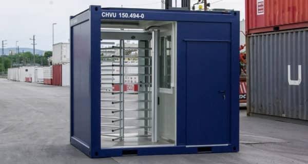 CHV-150-10FT-Technikcontainer-Zugangskontrolle-1