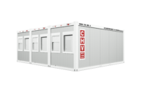 Container systems CHV-300-3-Buerocontainer triple plant