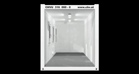 CHV-300.73 24 fuß Bürocontainer 7,3m Querschnitt