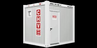 CHV-150S 10 fuß Sanitärcontainer front