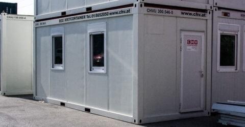 20 Fuß Bürocontainer 6m gebraucht