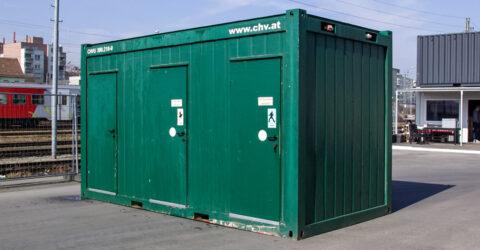16 fuß WC-Container Damen/Herren gebraucht