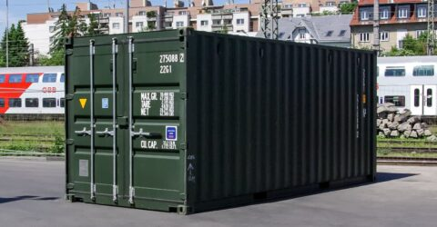 6m Seecontainer Easy Open Neuwertig
