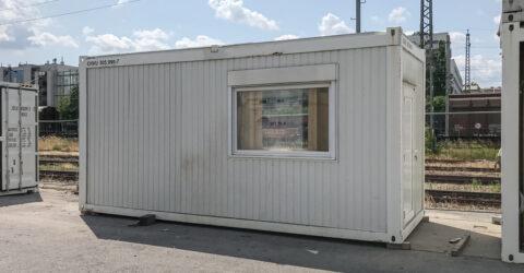 20 fuß Bürocontainer gebraucht 2,7m Raumhöhe