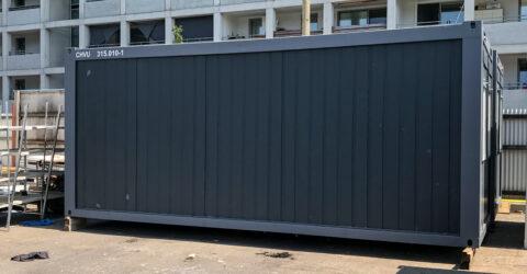 Container Doppelanlage gebraucht 2,3m Raumhöhe