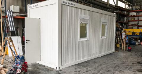 6m Bürocontainer 2,7m Raumhöhe gebraucht